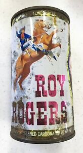 Roy Rogers Fruit Flavored Carbonated Beverage Pull Top Can