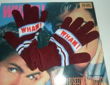 WHAM Wake Me Up Before You Go Gold Stamped Promo Vinyl LP  George Michael Gloves