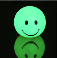 Led Night Light Mood 7 Color Smile Face Multiclor Room Home Decor Gift DT4C