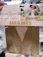 Mr and Mrs Tab Banner Wedding