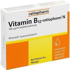 VITAMIN B12 ratiopharm N Ampullen 5X1ml PZN 7260796