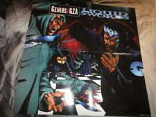 GZA Liquid Swords Poster RARE!!!!