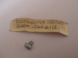 Genuine NOS Distributer Contact Breaker Points Screw Ford Rootes Lucas