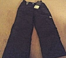 NWT Girl's or boys black sz 5 6 ZeroXposur Snow Ski Pants ($60) new