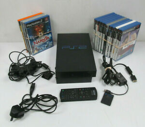 Sony PS2 Console SCPH-50003 Black Bundle With 15 Games