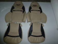 1997-2004 C5 Corvette Synthetic Leather Light Oak  & Black Cover for Sport Seats