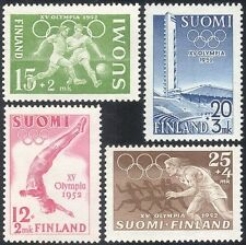 Finlandia 1952 Olimpiadi/OLIMPIADI/Calcio/Sport/Stadio/edifici 4 V n43956