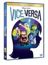 DVD Vice-Versa Classique Walt Disney Neuf SOUS BLISTER N°114 Pixar Pete Docter