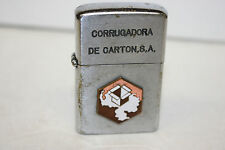 Vintage Penguin Lighter - Corrugadora De Carton, S A - Working