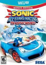 Sonic & All-Stars Racing Transformed Wii-U New