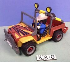 (K80) playmobil voiture 4x4 safari savane zoo 3018 5922 3015 3016 3017