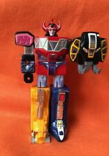 Vintage 1991 Bandai Mighty Morphin Power Rangers Deluxe Megazord Incomplete