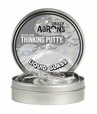 Crazy Aaron's Thinking Liquid Glass Crystal Clear Putty Large Silly Puddy Kids