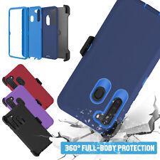 For Samsung Galaxy A21 / A11 Holster Belt Clip Case Rugged Shockproof Kickstand