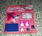 BARBIE FINISHING TOUCHES SHOES ACCESSORIES SET SEALED CARD MATTEL 1985 MOC MISB