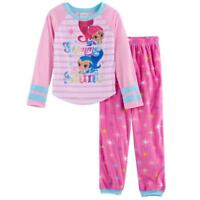 NWT NICKELODEON SHIMMER AND SHINE 2 PIECE PAJAMAS SET SIZE 8