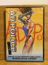 A.D. Police Files complete 1-3 / anime on DVD by AnimEigo NEW, AD