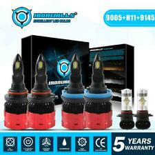 Combo LED Headlight Bulbs For RAM 1500 2500 3500 2011-2017 Ford F-150 2015-2018