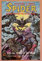 SPIDER: REIGN OF THE VAMPIRE KING #1 ~ VF/NM 1992 ECLIPSE COMICS ~ ALCATENA ART