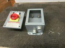 TELEMECANIQUE IEC 947-5 VDE0660 VZ 7 ENCLOSED 20 A AMP 600V SAFETY SWITCH