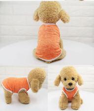 Dog Cat T-Shirt Clothes Vest Tee Cotton Puppy Pet Coat Summer Apparel Costumes