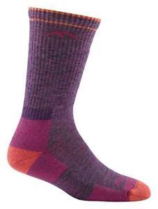 DARN TOUGH 1907 PLUM HEATHER Hiker Boot Sock Cushion Womens Merino Wool S, M, L