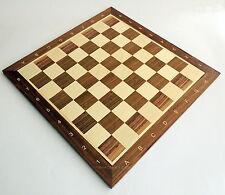 nogal TORNEO NR 5 Madera Tablero de ajedrez 48cm/48.3cm