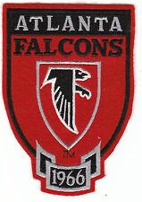 "Vintage 1980s Atlanta Falcons Crest Throwback Logo 5"" Sew On Patch Est 1966 NFL"