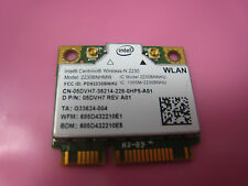 Dell Intel Wireless Wifi Card 2230 5DVH7 Mini PCI-e Half 802.11 N BLUETOOTH 3.0