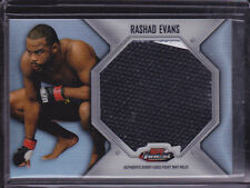 2012 Finest UFC Jumbo Fight Mat Relics #FFJMRE Rashad Evans 2 color!