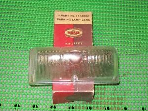 1946 47 48 Plymouth Special Deluxe P15 NOS MoPar Right PARK LAMP LENS 1148861