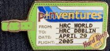 Hard Rock Cafe Dublin Giugno 2005 Pinventures Spilla Targhetta Bagaglio le 200 -