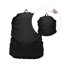 Rain Cover for Trekking/School/College/Laptops Bag Backpacks - Black