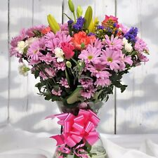 FRESH Birthday Flowers Delivered Mix Bouquet FREE UK Next Day by Post