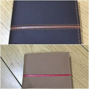 Men Designer Leather Style Wallet 4 Different Colours Excellent Quality Material
