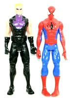 "HASBRO Marvel 11.5"" Tall Action Figures 2013 C-3632B & 2014 C-3252B Lot of 2"