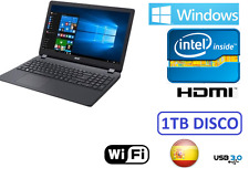 "ORDENADOR PORTATIL ACER 15"" INTEL 1TB HDMI 1756mb  WINDOWS 10 + OFFICE"