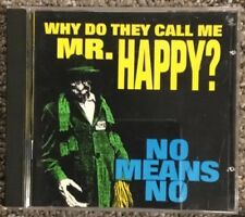 NOMEANSNO - Why Do They Call Me Mr Happy? , CD