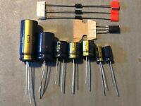 Marantz 2220 Power Supply Capacitor Upgrade Set High-Quality Receiver Recap Kit
