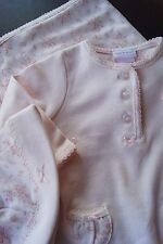 NWT PIPER & POSIE 3pc PINK Romper Blanket Hat SET Baby SHOWER GIFT 0-3M