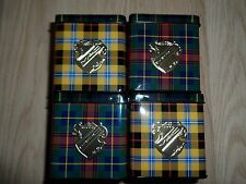 MAC A TARTAN TALE COLLECTOR TIN SET OF 4 NWOB TIN ONLY