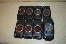 CASIO G'ZONE VERIZON C781H BLACK/RED FLIP PHONES - LOT OF 7