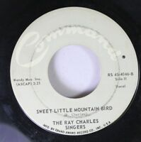 Soul 45 The Ray Charles Singers - Sweet Little Mountain Bird / Love Me With All