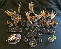 Warhammer Flesh-eater Courts Age Of Sigmar Death Painted Army Nagash Miniatures
