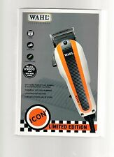 Wahl Limited Edition Icon Racer Professional Clipper #8490-1001