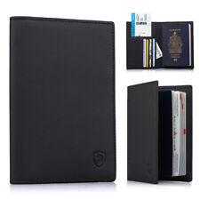 Genuine Leather Passport Cover Designed  Card Holder Business Passport Case