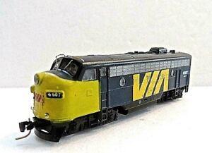 MTL Z 980 01 450 F7 Via Rail Powered A-Unit Locomotive # 6507 (Tested) NIB