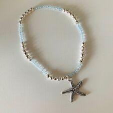 Pendant Ankle Bracelet Handmade Beaded Starfish