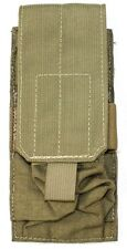 Eagle Allied Industries MLCS Khaki MJK Double 1x2 5.56 Mag Pouch SFLCS DGLCS