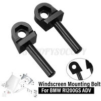 Windshield Windscreen Mounting Fixed Bolts Screw For BMW R1200GS ADV 04-12 Black